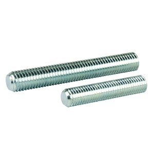 GNS_All Threaded Zinc Plated DIN 975 Tie Rod, ISO Metric, for Nylon Adjustable Bases Code NS